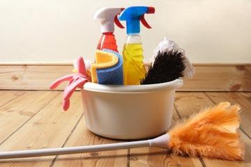 tijd om schoon te maken